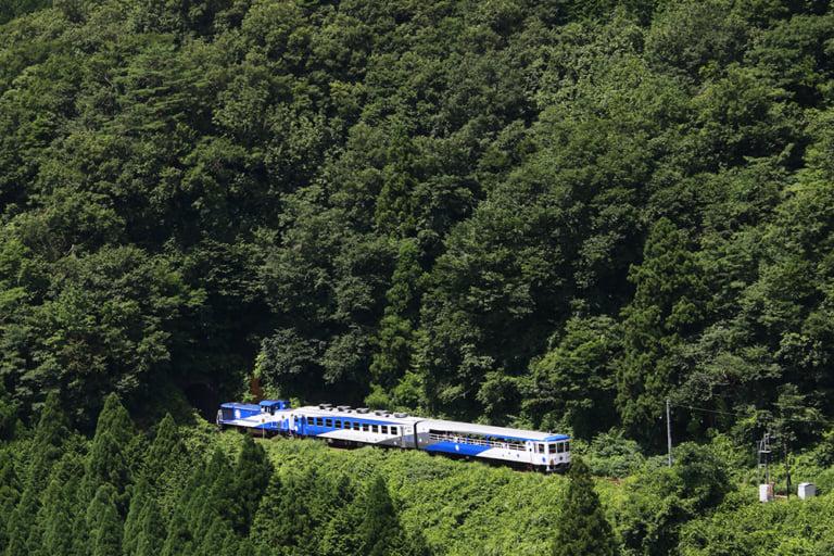 【雲南市】絶景トロッコ列車「奥出雲おろち号」の運行が始まりました!