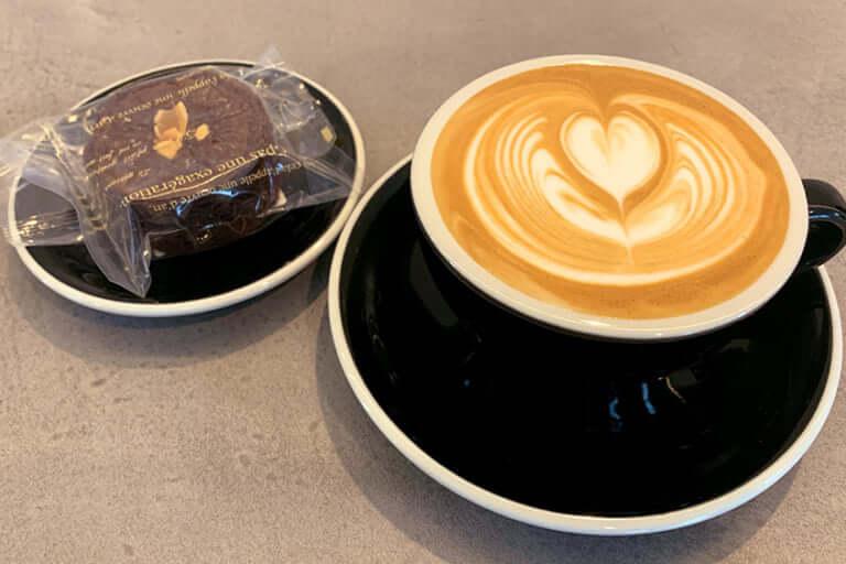 the coffee blanksのカフェラテ