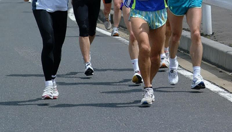 マラソン大会ランナー