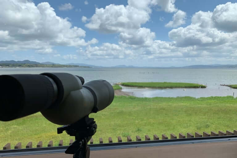 宍道湖グリーンパーク野鳥観察舎