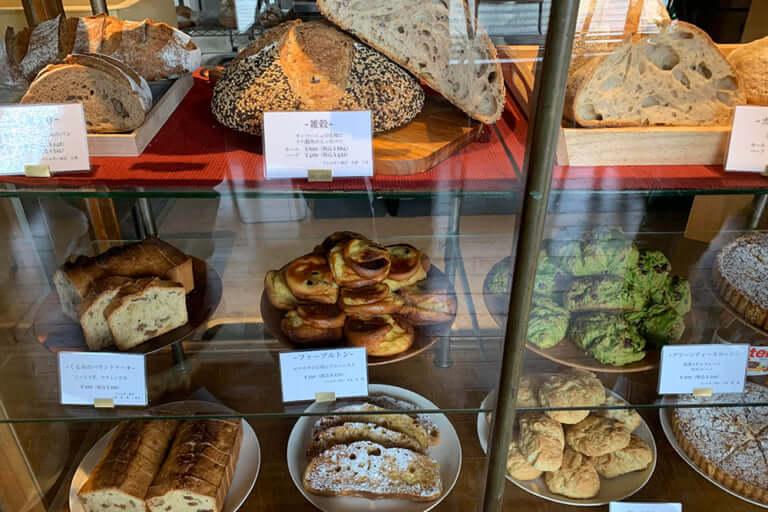 薪窯パンアルメのパン