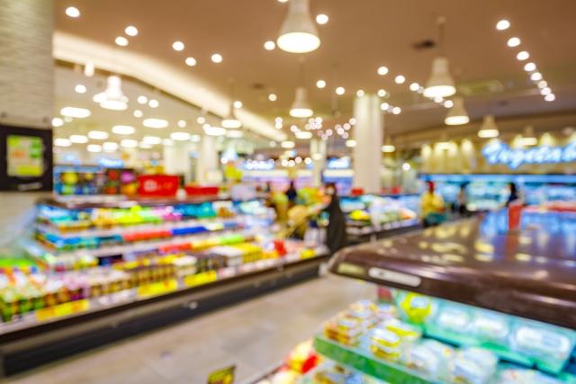 スーパーマーケットイメージ