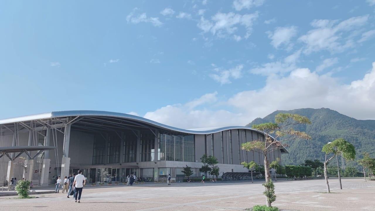 県立浜山体育館カミアリーナ