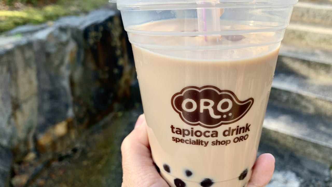 ORO三刀屋店のタピオカ