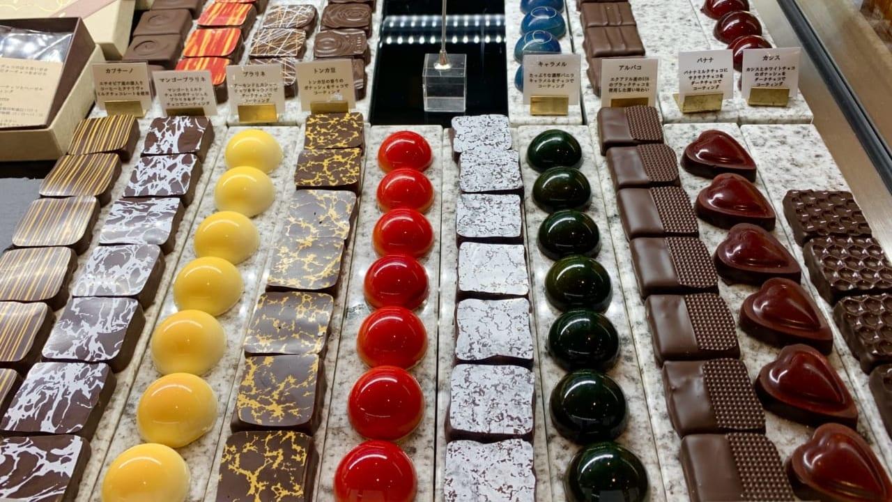 カスケットのチョコレート