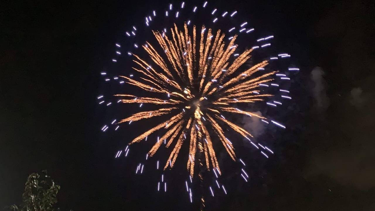 荘原の花火